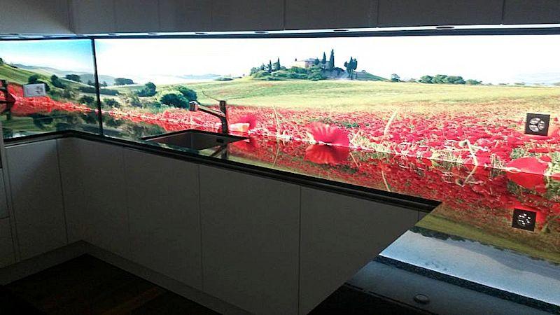 Emejing Küchenrückwand Glas Mit Led Photos - Amazing Home Ideas ...