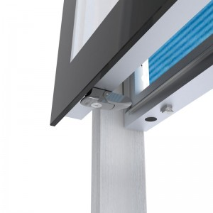 LED Leuchtkasten 3xA0 für Gemeindeinformationen oder Fahrpläne und Karten, Aussen Vitrine, Schaukasten, Infokasten, Fahrgastinformation