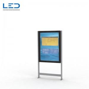 LED Schaukasten 2xA0 LED Infokasten A0, Infokasten, Fahrgastinformation, Gemeindeinformation