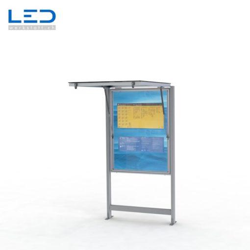 LED Schaukasten A0 LED Infokasten 2xA0, Infokasten, Fahrgastinformation, Gemeindeinformation