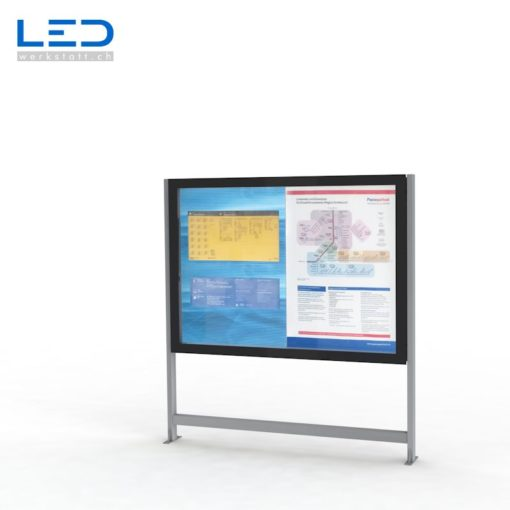 LED Schaukasten 2xA0 LED Infokasten 2xA0, Infokasten, Fahrgastinformation, Gemeindeinformation
