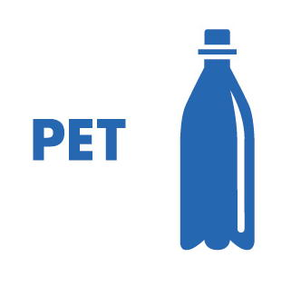 Symbol PET, PET Recycling, Wertstofftrennung, Recycling Quote