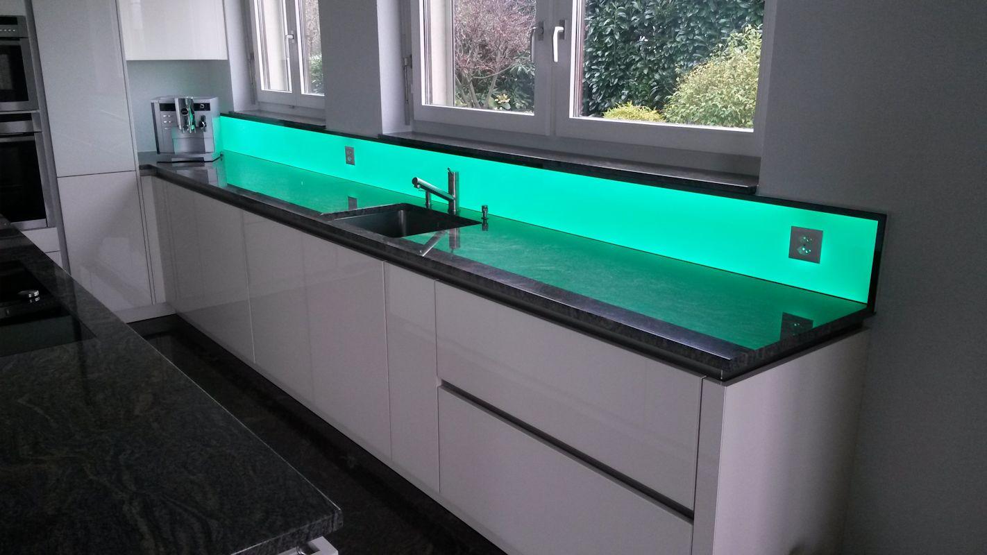 küchenrückwand led