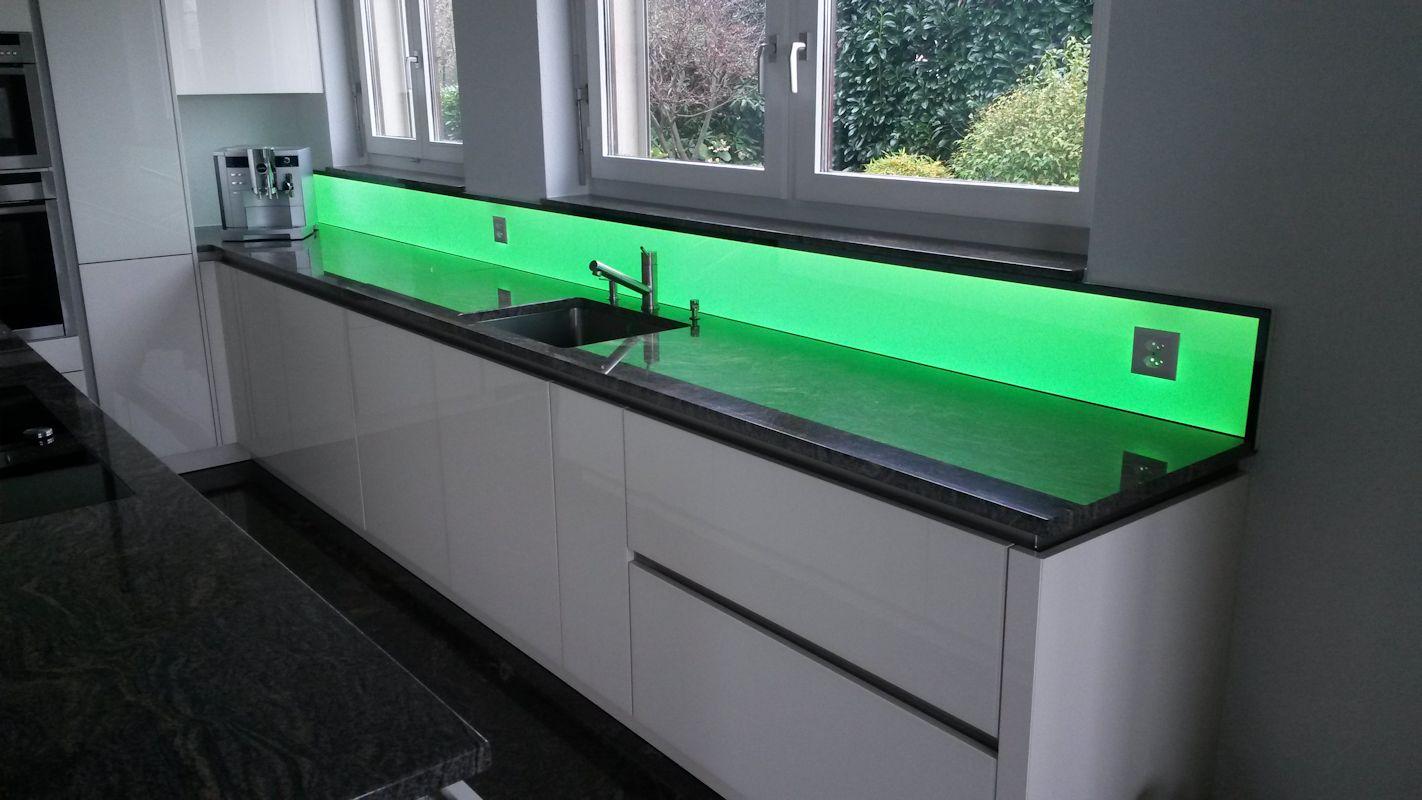 Küchenwand Glas Die neuesten Innenarchitekturideen