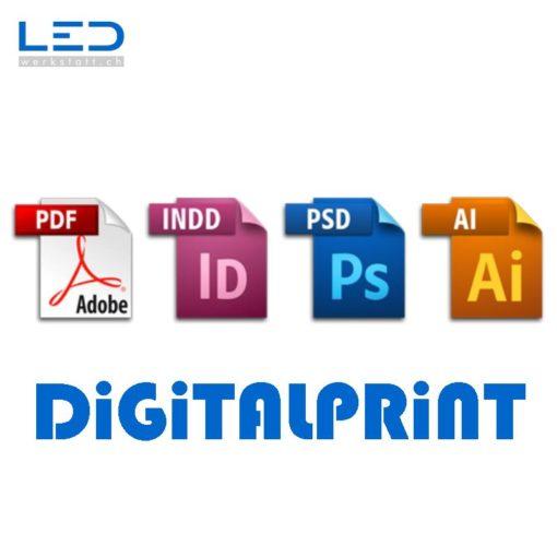Digitalprint, Latexdruck, Plakat & Poster drucken, Gebäudebeschriftungen