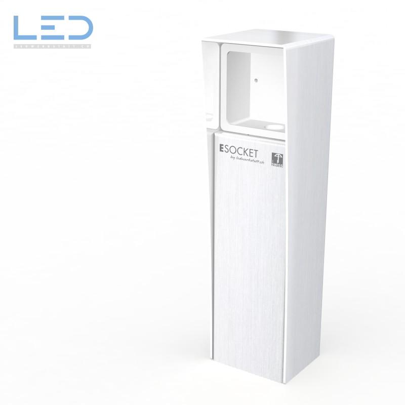 Energiesäule Steckdosensockel NAP ESocket 350, Steckdosensäule, Steckdosensäule, socles de prises, socket pedestals, sockets column, prises colonne,
