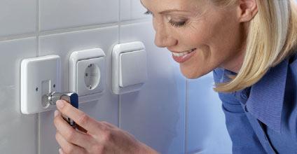 Erdgassteckdose Plug1 für drinnen und draussen