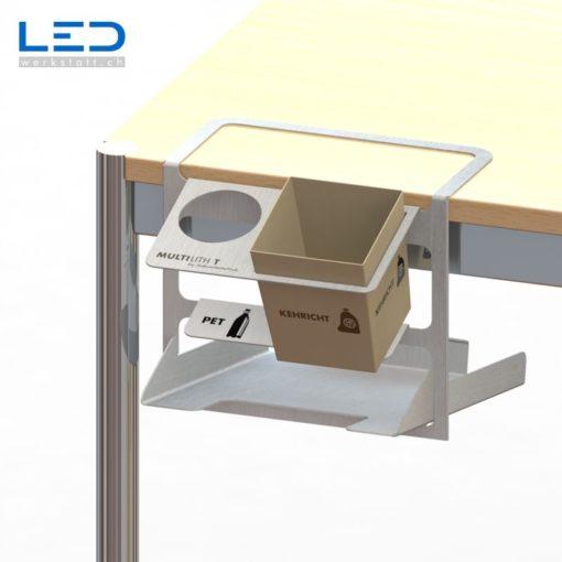 Tischabfall Behälter Multilith T , Abfaltrenner, Trennbehälter, Recycling