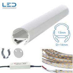 LED Profil Leuchte Durchmesser 16mm mit PMMA Abdeckung