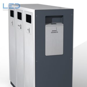 Wertstoffbehälter W3, Abfalltrennbehälter, Public Waste bins, Poubelle Recyclage, Abfallbehälter