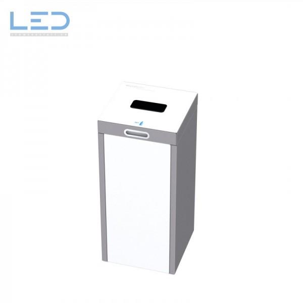 Abfallbehälter 110l für schweizer Abfallsäcke, PET, Kehricht, Alu, Papier, Karton, Ascher oder Bechersammler