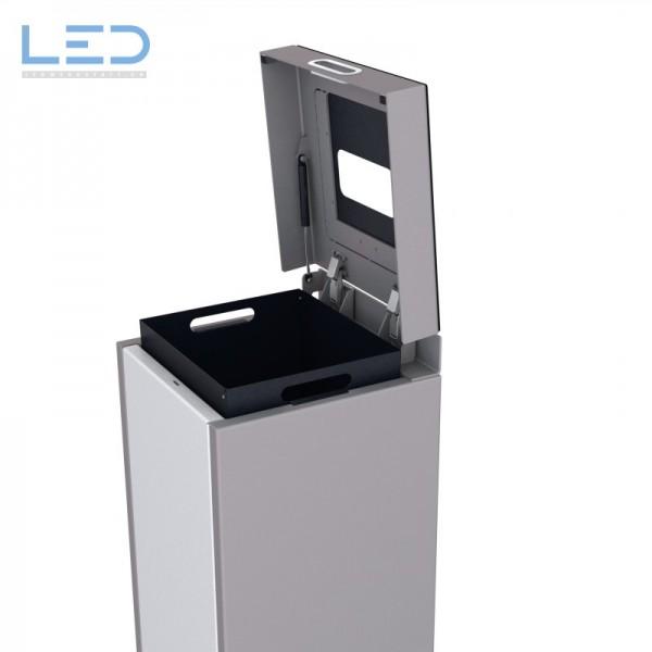 PET Recycling, Recyclingbox, Wertstoffbehälter, Abfall Trenner, Recycling Station, Waste Bin, Entsorgungs Behälter