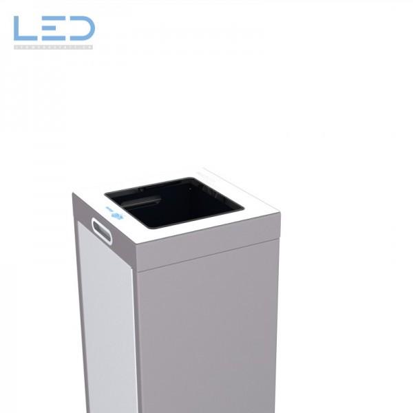 Papiersammelbehälter, Recyclingbox, Wertstoffbehälter, Abfall Trenner, Recycling Station, Waste Bin, Entsorgungs Behälter