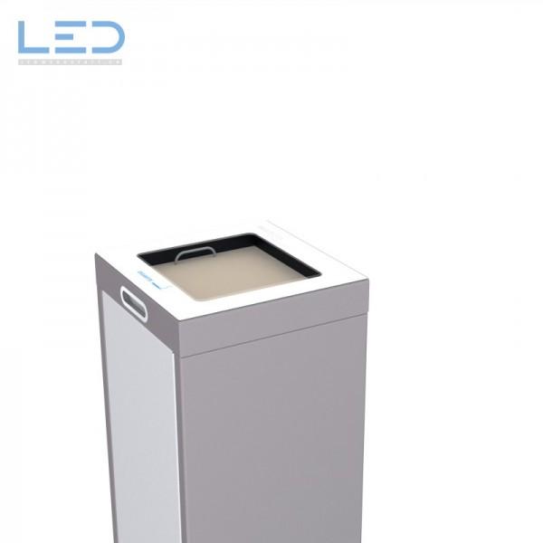 Abfallbehälter, Wertstoffbehälter, Abfall Trenner, Recycling Station, Waste Bin, Entsorgungs Behälter, Ascher