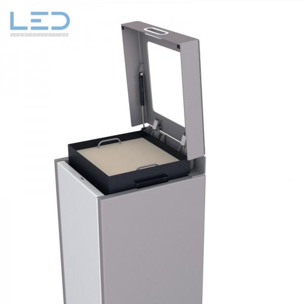 Wertstoffbehälter, Abfall Trenner, Recycling Station, Waste Bin, Entsorgungs Behälter, Recyclingbox, Recyclingstation