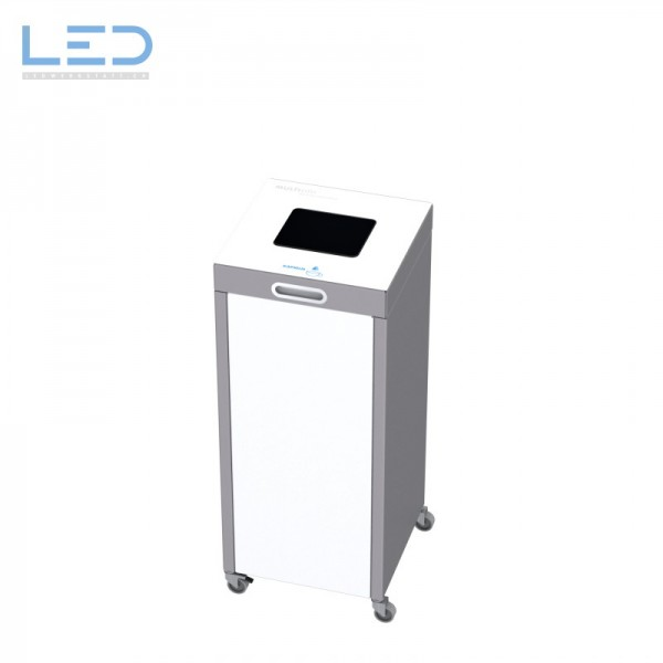 Kaffeekapseln Behälter Multilith, Recyclingbox, Wertstofftrenner, Recyclingstation