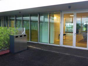 W3 Entsorgungssystem, Recycling Station, Wertstoffbehälter, Abfallbehälter, Recycling System, Abfalltrennung, Schweiz, Public Waste bins, Poubell recyclage