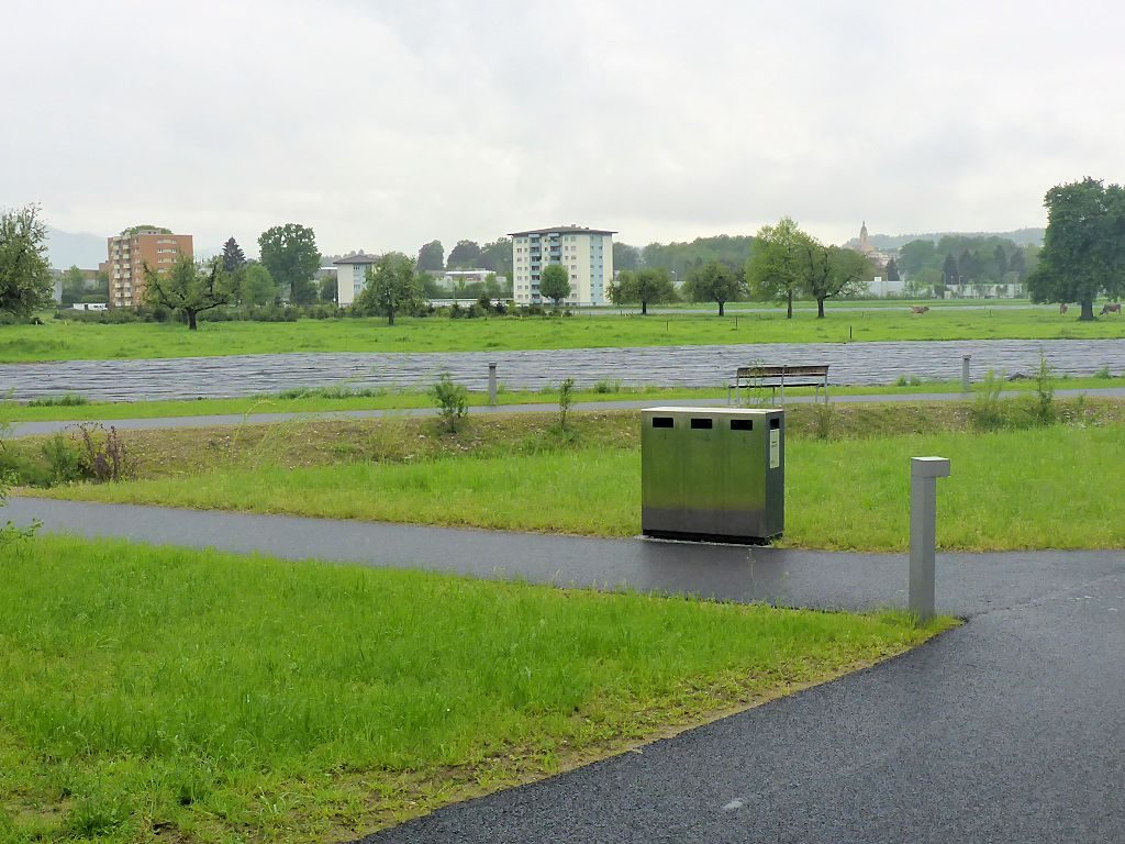 W3 Wertstoffbehälter, Abfallbehälter, Recycling Station, Abfallbehälter, landscape furniture, public waste bins, Poubelle Recyclage