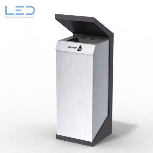 recycling supplies, Abfallbehälter, Design Abfallstation, Recyclingstation, Waste Bin,. Edelstahl, Inox, Chromstahl