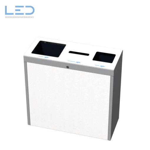trash, Büro Recyclingstation für Papier, Zeitungen und Dokumente, 60l 110l, Wertstoffbehälter, Waste Bin, Abfallbehälter, Papiersammlung, waste management