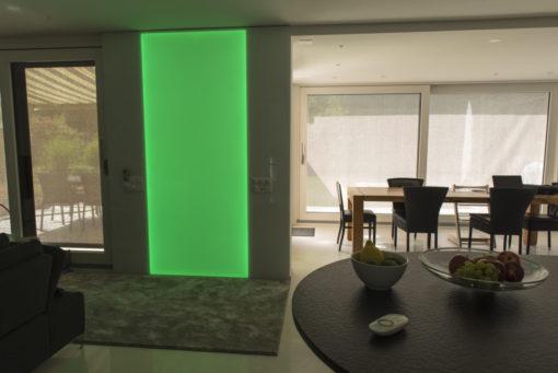 LED RGB Leuchtwand, Flachleuchte, LED, Deko, Leuchte, Wandleuchte, Wandbeleuchtung
