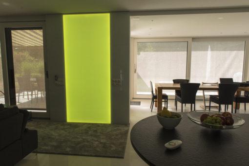 RGB Wandleuchte, RGB Leuchtwand, Flachleuchte, LED, Deko, Leuchte, Wandleuchte, Wandbeleuchtung