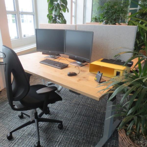 Arbeitsplatz EWZ ohne Papierkorb