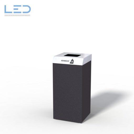 Recyclingstation CC-Bin, Wertstoffbehälter, Büro, Office, Black, Schwarz, Abfallbehälter, PET, Abfall, Alu