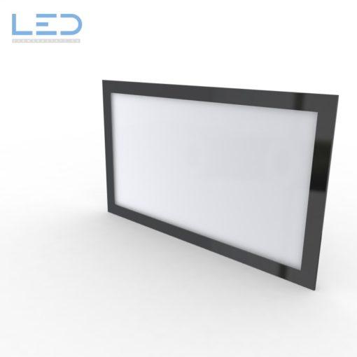LED Leuchtschild, Leuchtreklame, 12V, 24V, 5700K, ESG Glas