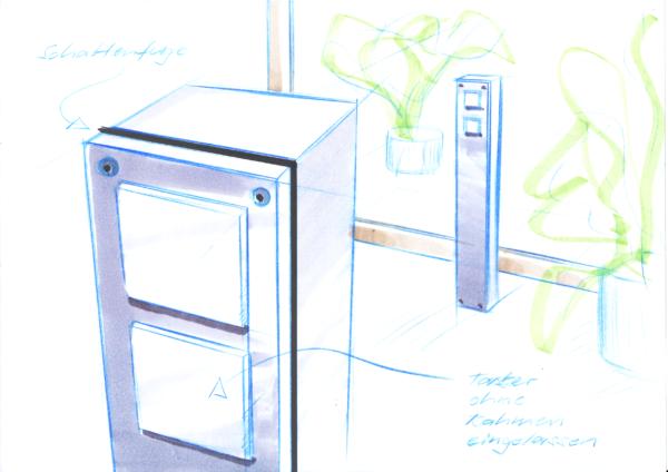 Steckdosensäulen RSOCKET für den Innenraum, Feller Edizio, Hager Kallysto und ABB Sidus. UP Apparaten, Energiesäule, Elektromaterial, EM
