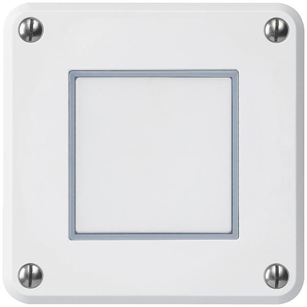 UP-Druckschalter Hager Robusto, IP55, E-360316103, EAN-Nr 7611795456373