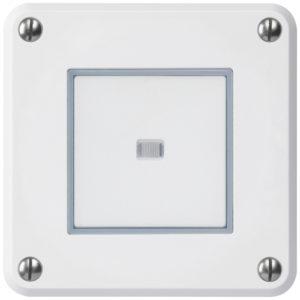 E-Nr 366324003 UP-Drucktaster ROB ws beleuchtet