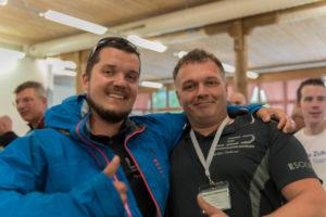 Wave Trophy 2018 Team LED Werkstatt Peter Bucher und Christoph Fahrni
