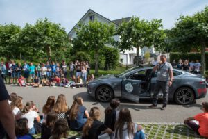 Wave Trophy 2018, Präsentation Tesla Model S in Hünenberg
