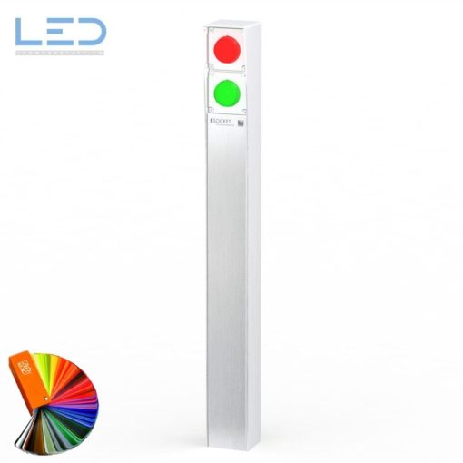 Ampel ESOCKET für Ihre Tiefgarage oder Einfahrt, Steckdosensäule, socles de prises, socket pedestals, sockets column, prises colonne,