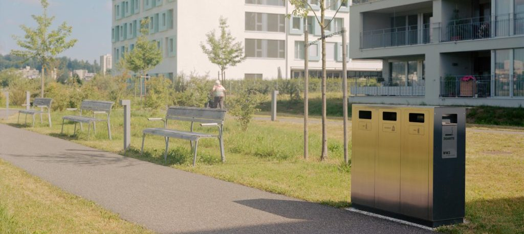 W3 Recyclingstation im Betagrtenzenter Emmenfeld