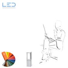 LED-SOCKET 350 Color Weg- und Sockelleuchte, Wegbeleuchtung, ESOCKET 350, LED Gartenbleuchte, Elektromaterial, EM, Winterhalter Fenner, WF