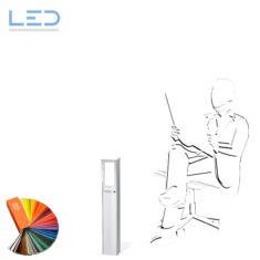 ESOCKET 600-LED Wegleuchte, Gartenleuchte Color nach RAL für Ihren Aussenbereich im Garten oder auf der Terrasse, Elektromaterial