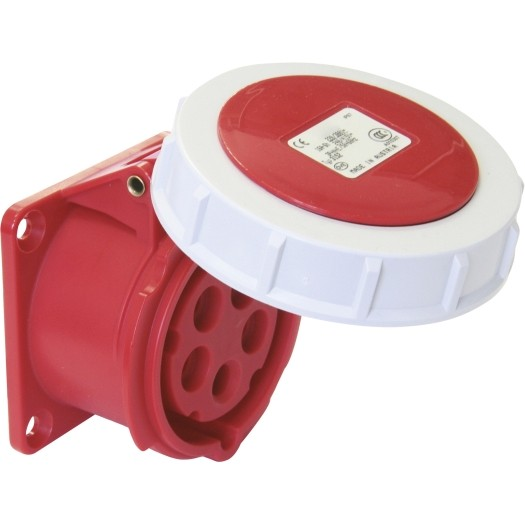 CEE-Anbaudose 32 A 5-Polig, CEE-Anbaudose 16 A 5-Polig, IP 67 für den Aussenraum, Ladesteckdose, 22 kWh, 11 kWh