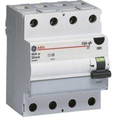 FI-Schutzschalter 4-polig Typ A von GE/AEG