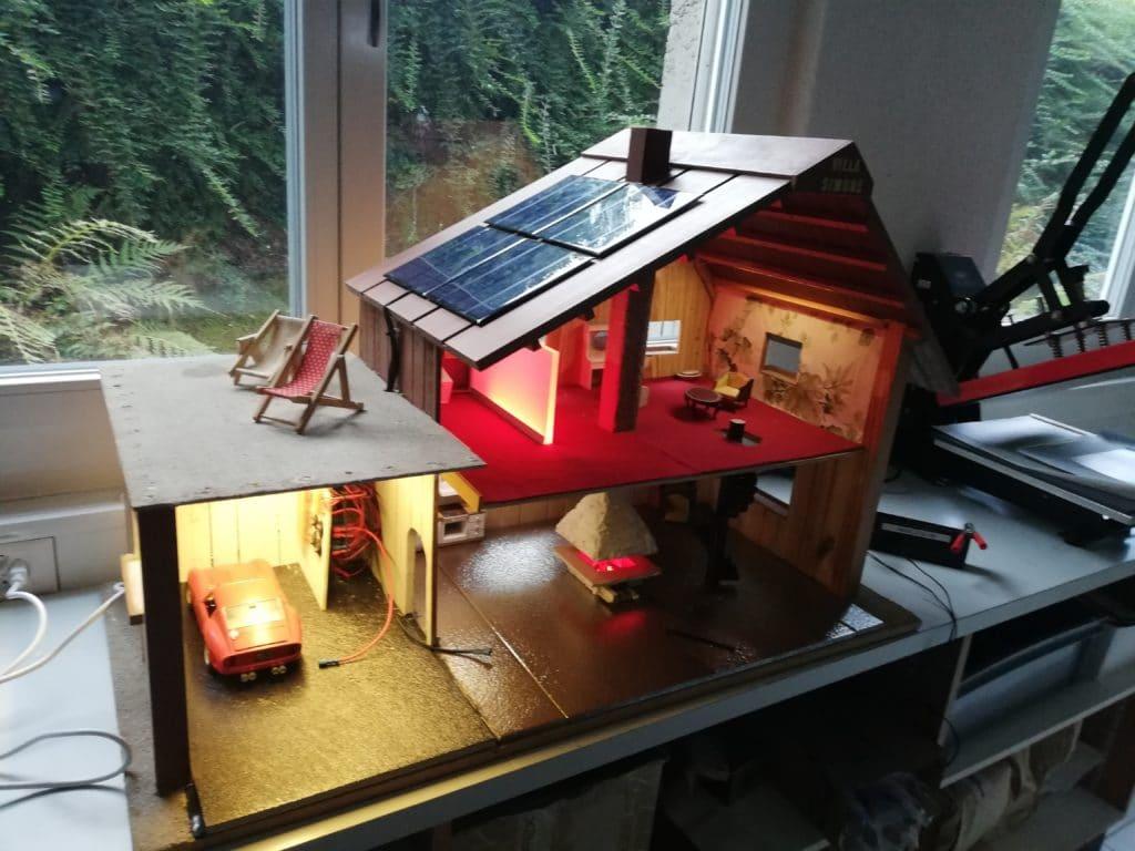 ISP AG, Musterhaus, Puppenstube, Solar, Autark