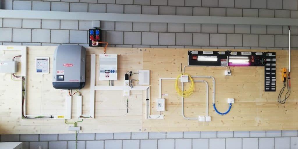 ISP AG Herzogenbuchsee, Photovoltaik Installation, LED's