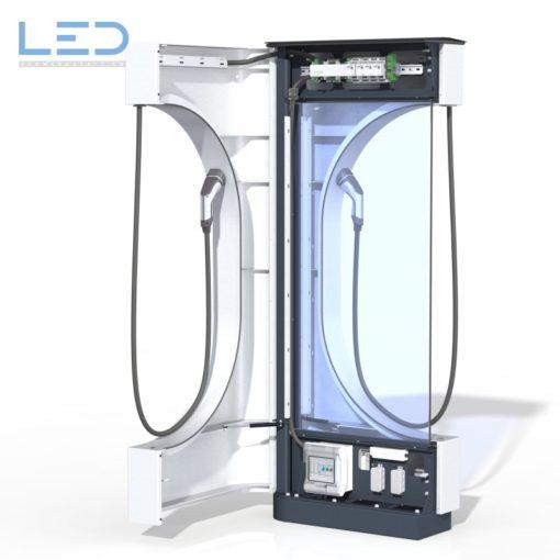 E-Ladesäulen, E-Charger, Stromtankstelle, E-Mobility