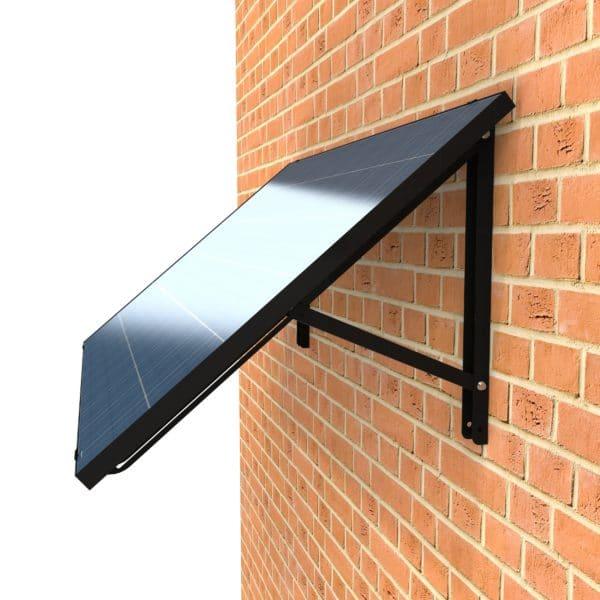 Verstellbares Wand PV-Modul mit Wechselrichter 300 Watt, Solaranlage für Mieter, Solarmodul, Plug and Play