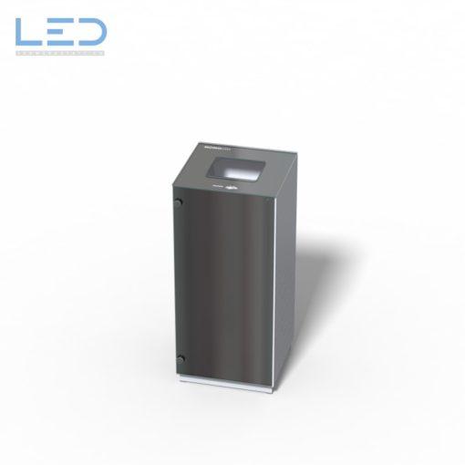 Papierkorb Monolith, Recyclingstation, Wertstoffbehälter, Abfalleimer