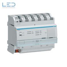Hager TJA560, REG-Controller KNX Hager IoT, Schnittstelle zwischen KNX-Bus und LAN-Geräten EAN: 3250615909411, E-Nr 405701026, Elektromaterial