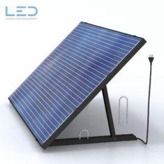 Plug In Solar Balkon, PV-Modul 230V, produzieren Sie ihren Grundbedarf aus dem eigenen Solarmodul. 5-7% Ihres Strombedarfs selber produzieren